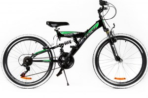 Mountain Bike VOYAGER 24 - Black/Green