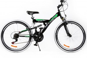 Mountain Bike VOYAGER 26 - Black/Green