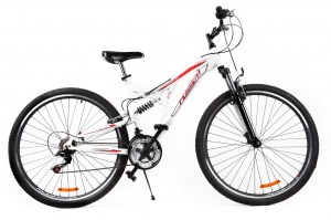 Mountain Bike BLOG 29 - White/Red