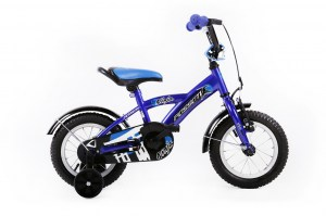 Kids Bike NINJA 12 BLUE
