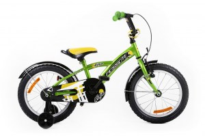 Kids Bike NINJA 20 GREEN-YELLOW